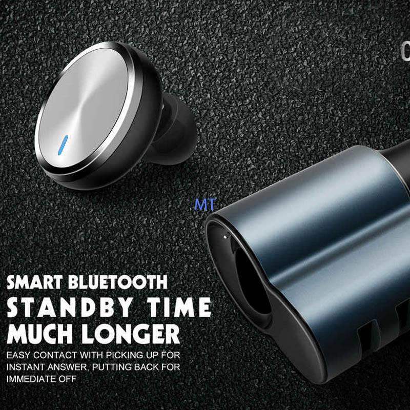 GENUNIE LDNIO CM21 BLUETOOTH HEADSET WITH 3 USB CHARGING PORTS 4.2A AU