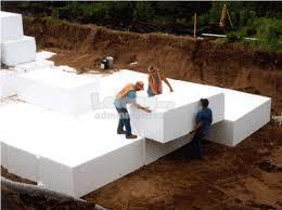 Geofoam infrastructure and building projects gabus EPS block