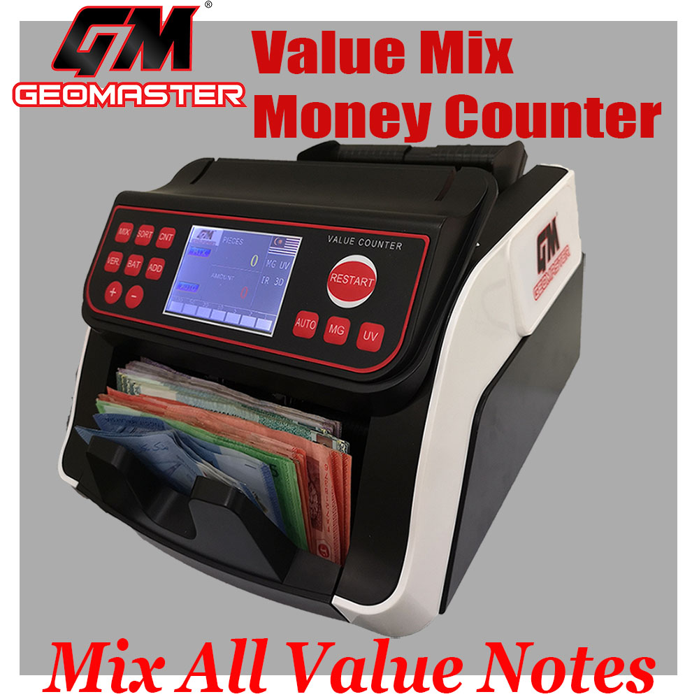 GEOMASTER 1303 VALUE MONEY COUNTER - ( MIX ALL VALUE NOTES )