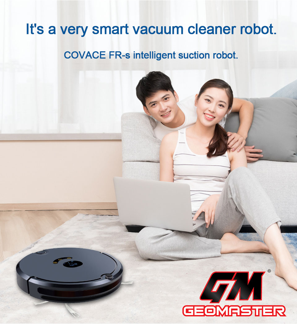 GEOMASTER 3 IN 1 SMART ROBOT CLEANER SMART PHONE CONTROL - AUTO RECHARGE MALAY