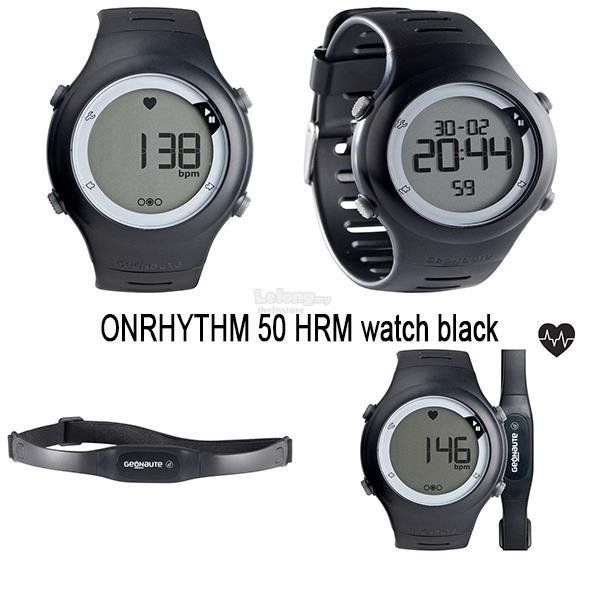 2589f798df7 GEONAUTE ONRHYTHM 50 HRM watch bla (end 12 29 2017 11 15 AM)