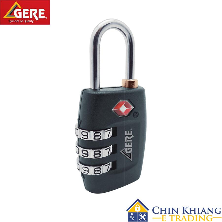 Gere CL32-335 Combination TSA Luggage Lock