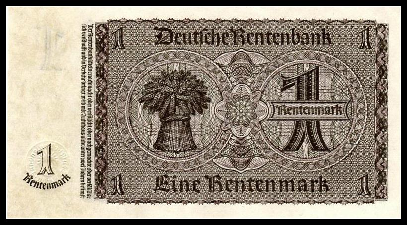 Germany 1937 One 1 Mark UNC (P-173b)