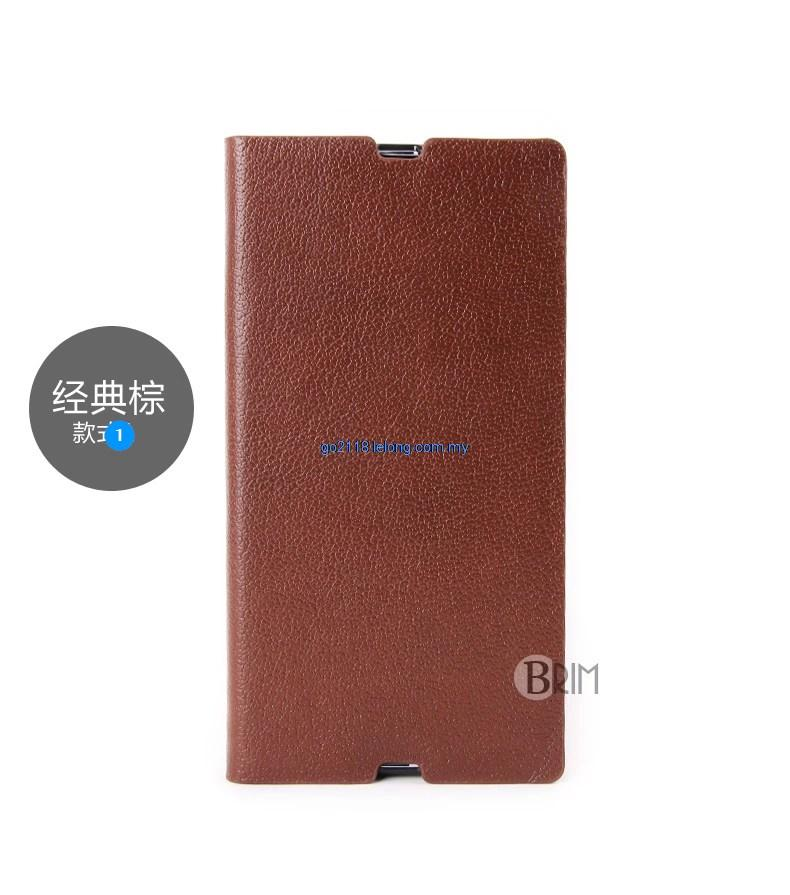 Germany Leather Sony Xperia Z Ultra BRIM case casing cover laici style