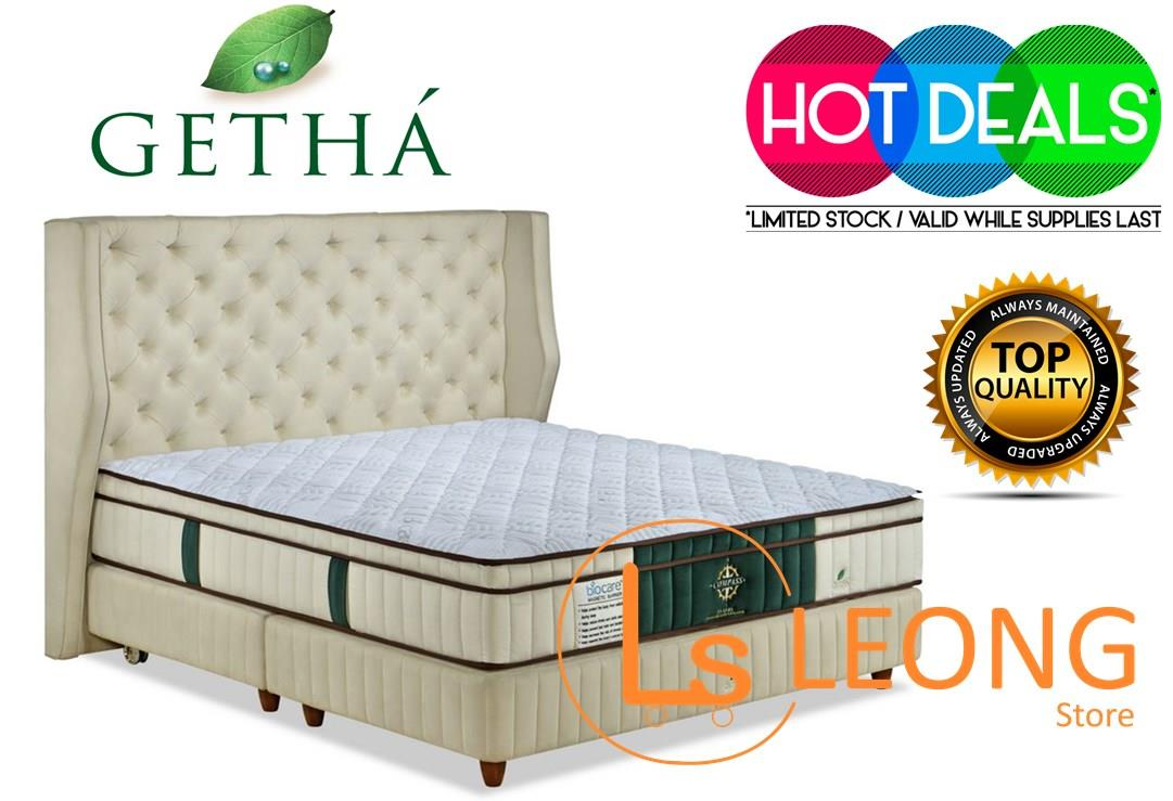 GETHA COMPASS Luxury EMF Radiation Protection King Size Mattress