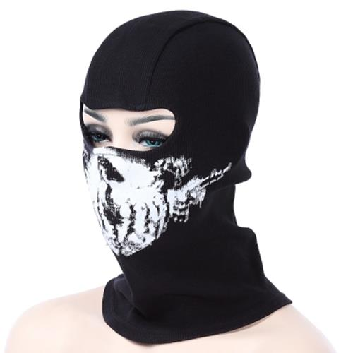 2245c9cb05103 GHOST SKULL FULL FACE MASK OUTDOOR CYCLING SKIING TRAINING HOOD BEANIE