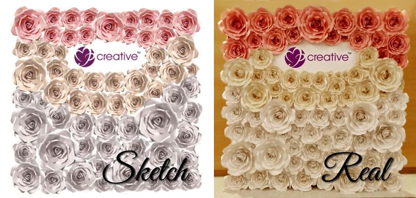 Giant paper flower backdrop custom end 1272019 415 pm giant paper flower backdrop customize your own wedding backdrop mightylinksfo