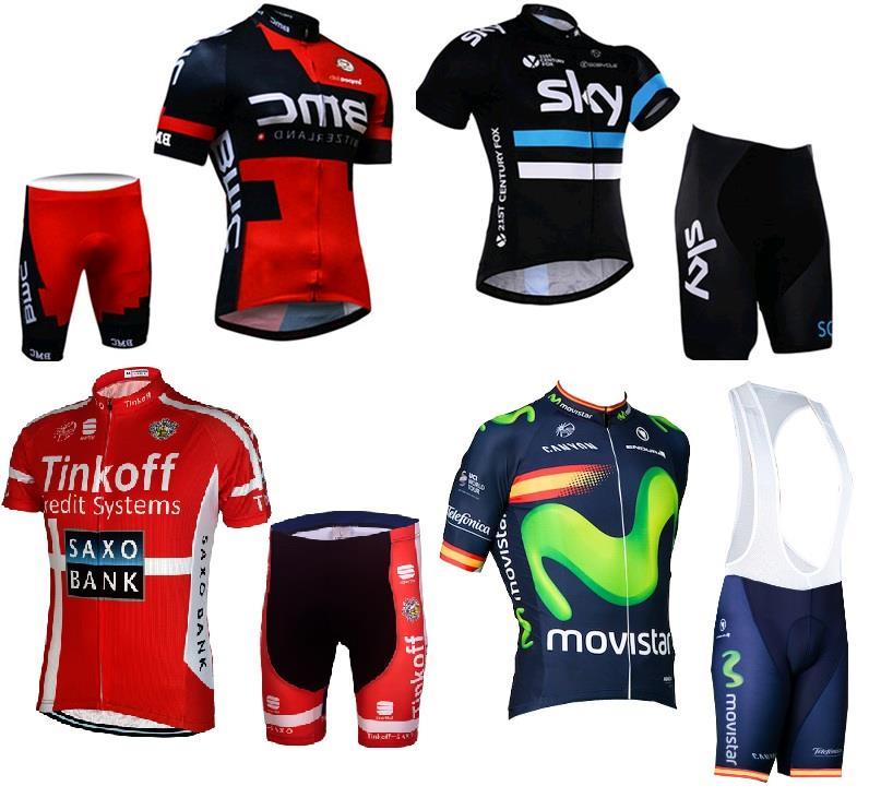 GIANT Shimano TREK HTC BMC SKY Merida Garmin Cannondale Cycling Jersey 7ed0b0c3a