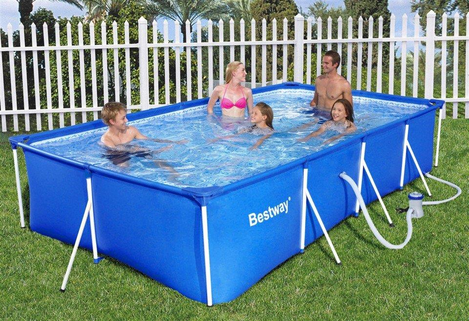 Above Ground Metal Frame Swimming Pools Round Designs