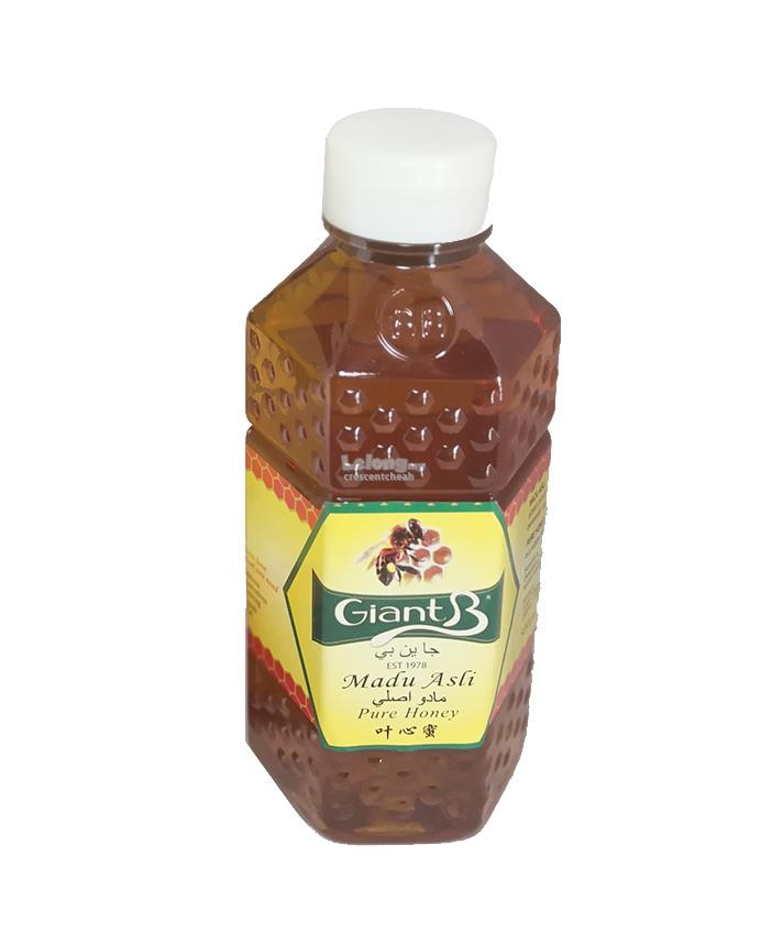 GiantB 500g Pure Honey Light (honey from rubber tree leafs and flower)