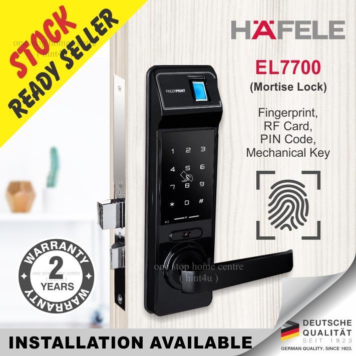 Gift St guchi & Samsung x1 Hafele EL7700 Fingerprint Digital Door Lock