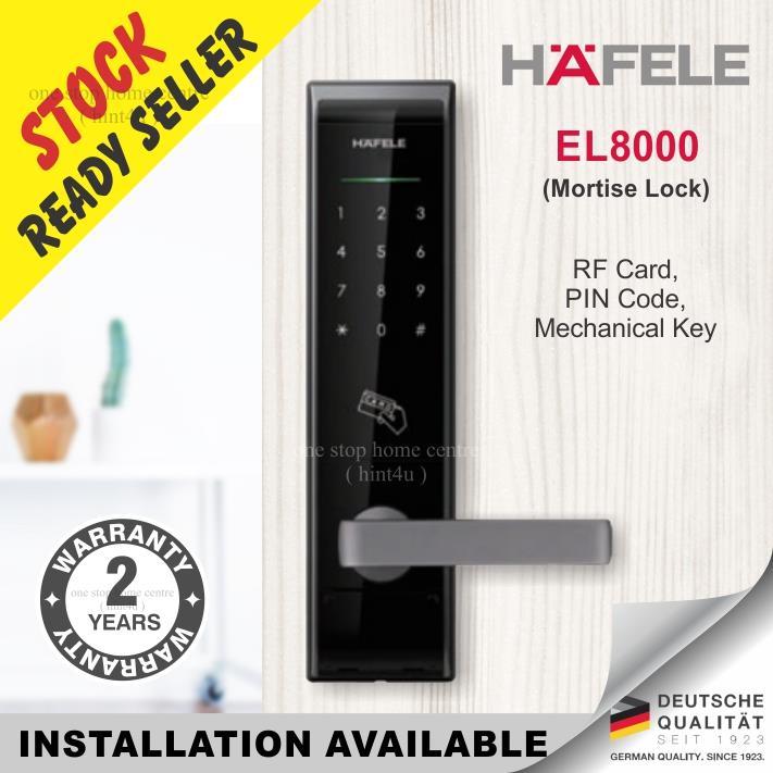 Gift Yale or Samsung RFID x1) HAFELE EL8000 SMART DIGITAL DOOR LOCK