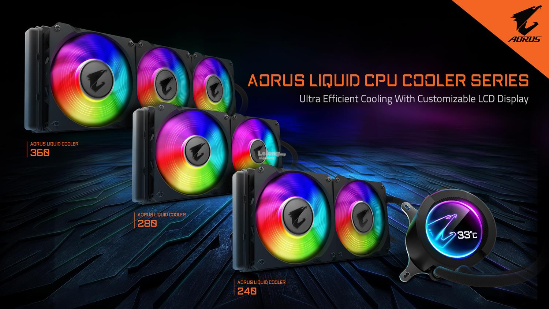# GIGABYTE AORUS AIO RGB CPU Liquid Cooler # 240/280/360