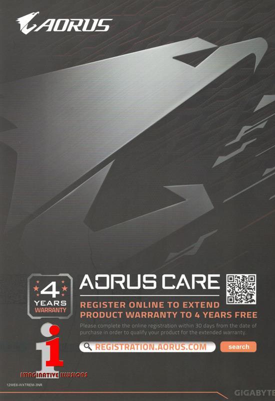 Gigabyte AORUS Xtreme nVidia GeForce RTX 2060 6GB GDDR6 PCI-E3 0
