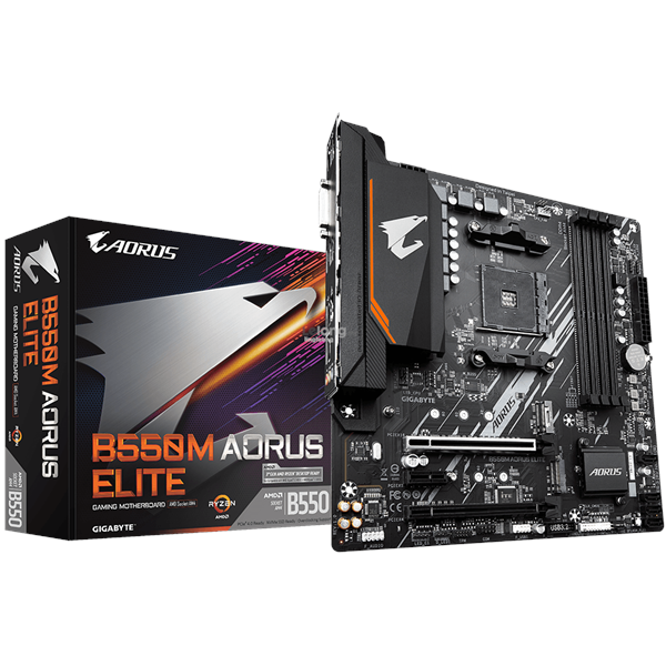 # GIGABYTE B550M AORUS ELITE mATX Motherboard # AMD AM4