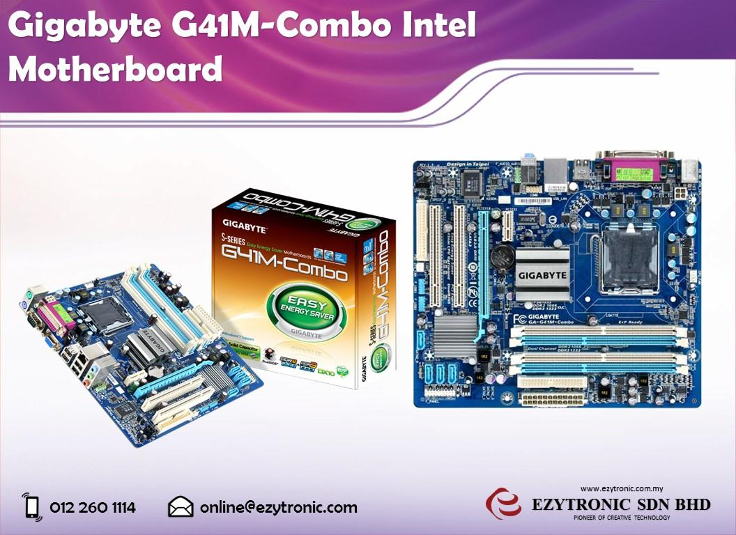 Gigabyte G41m Combo Intel Motherboar End 4 22 2017 909 Am Motherboard G41