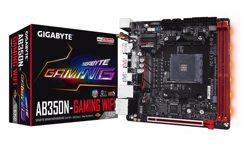 # GIGABYTE GA-AB350N-Gaming WIFI ITX Motherboard # AMD AM4