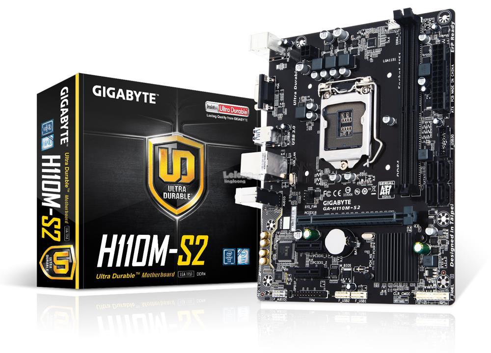 # GIGABYTE GA-H110M-S2 Motherboard # LGA 1151
