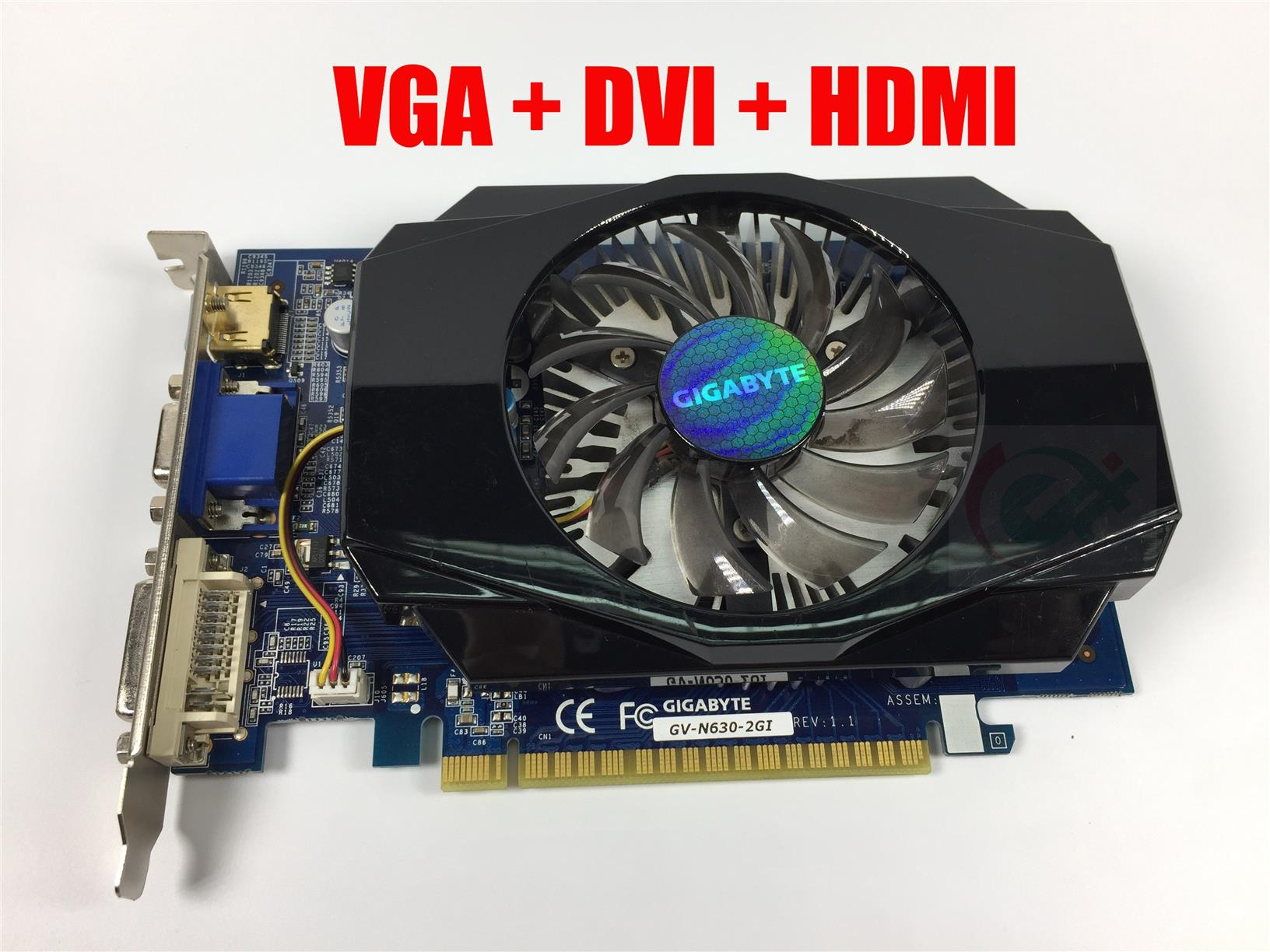 GIGABYTE GT 630 GV-N630-2GI 2GB 128-Bit DDR3 Graphic Card GT630