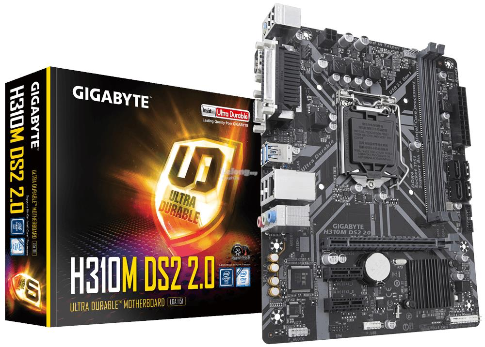 GIGABYTE H310M-DS2 2.0 SOCKET 1151 MAINBOARD