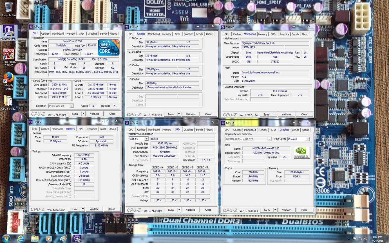 Gigabyte H55M-USB3.0 Motherboard For (end 4/24/2017 5:15 PM)