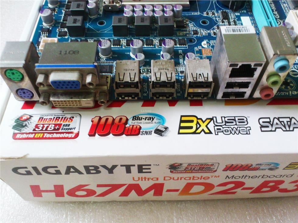 Gigabyte GA-H67M-D2-B3 AutoGreen Drivers
