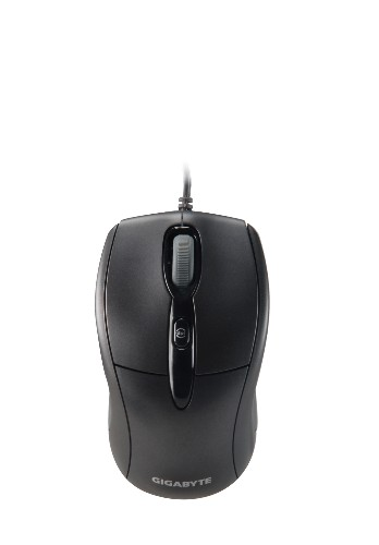 GIGABYTE MINI WIRED OPTICAL MOUSE (GM-M7000) BLK/BLUE/WHT
