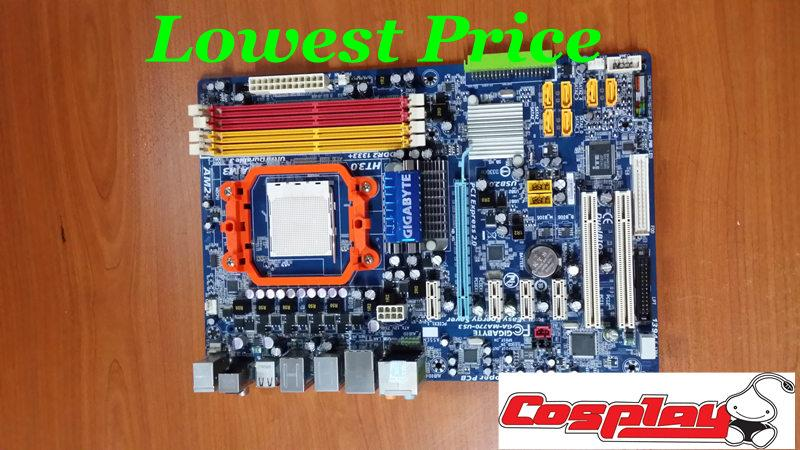 Gigabyte MotherBoard ddr2 Am2 Am2+ Ga ma770 us3 Rev2.0