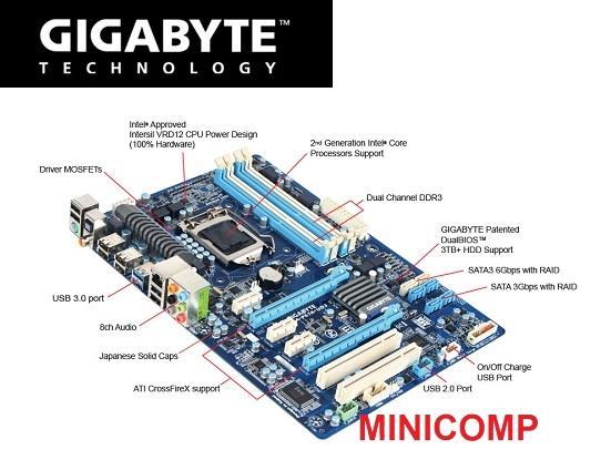 Gigabyte GA-P67A-UD3 XHD Driver FREE