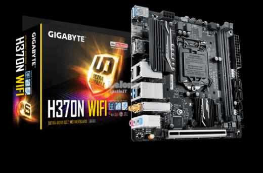 GIGABYTE MOTHERBOARD INTEL SOCKET 1151 H370N WIFI