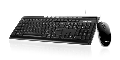 GIGABYTE WIRED KEYBOARD & MOUSE DESKTOP COMBO (GK-KM6150)