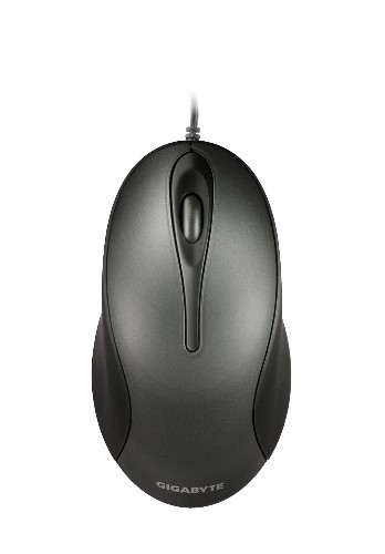 GIGABYTE WIRED OPTICAL MOUSE (GM-M5100) BLK/GOLD/WHT