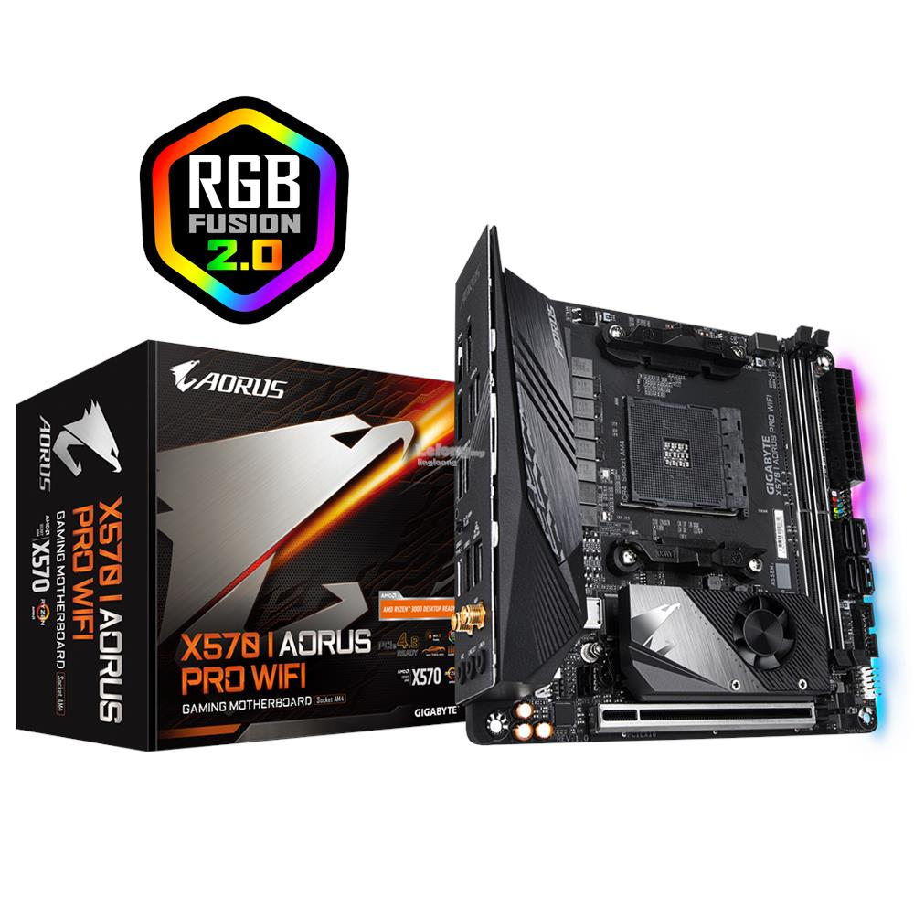 # GIGABYTE X570 I AORUS PRO WIFI mITX Gaming Motherboard # AMD AM4