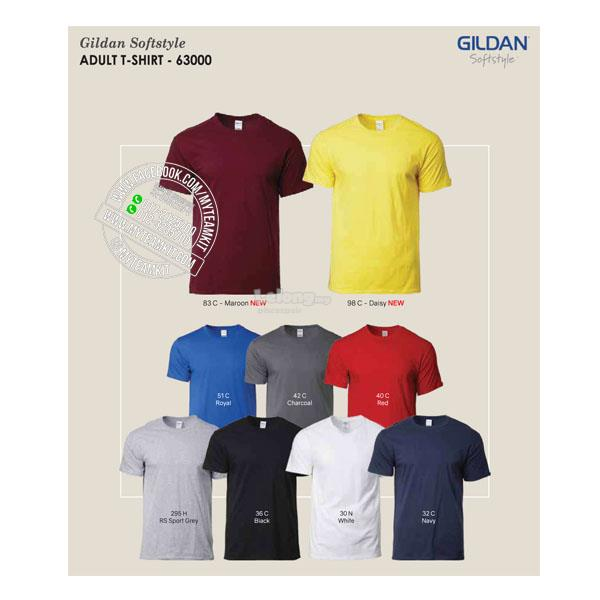 Gildan Softstyle Adult T-shirt 63000