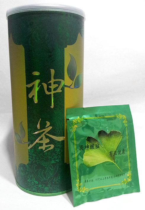 GINKGO TEA - Memory Enhancer and Blood Flow Improvement