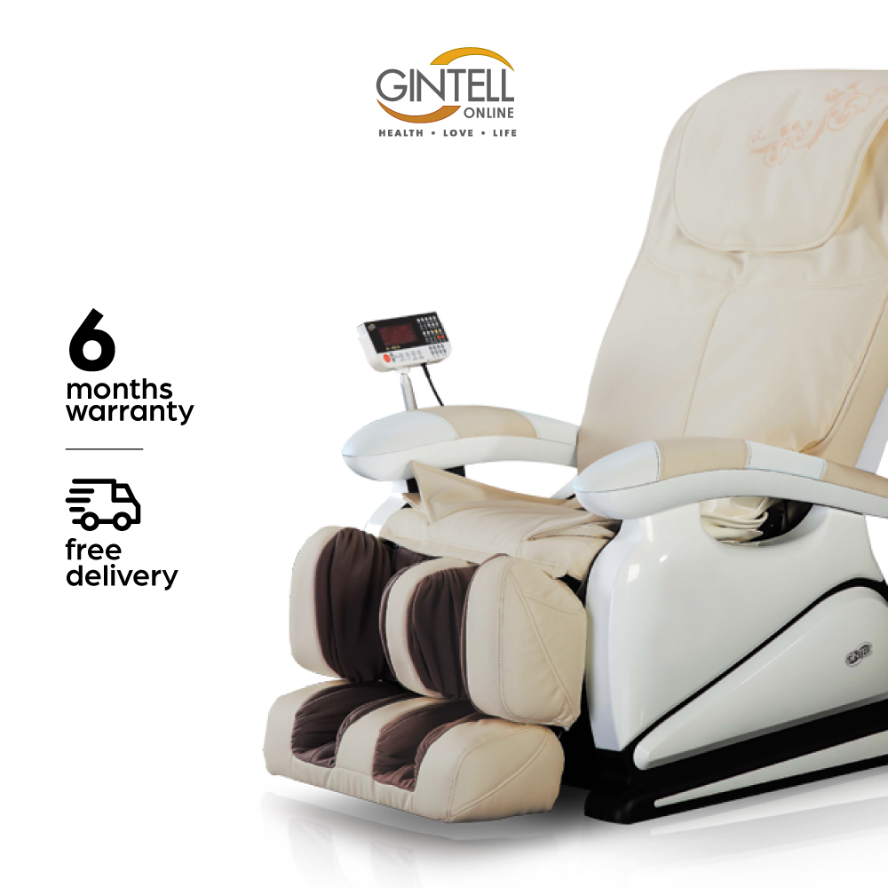 GINTELL G-Pro Gold (Ivory Colour) Massage Chair (Showroom Unit)