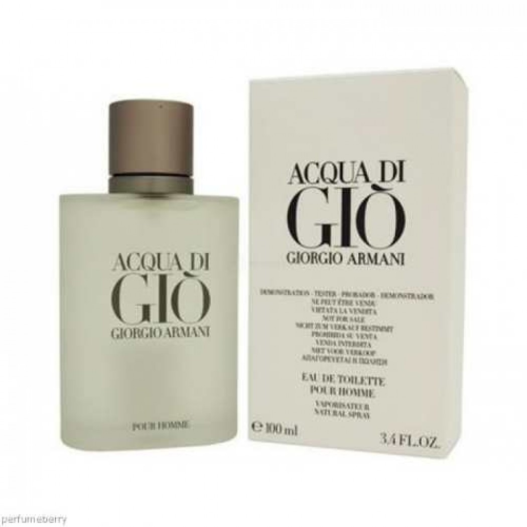 For Men Tes Toilette 100ml Essenza Giorgio Gio Eau Di De Armani Acqua WECxoeQBrd