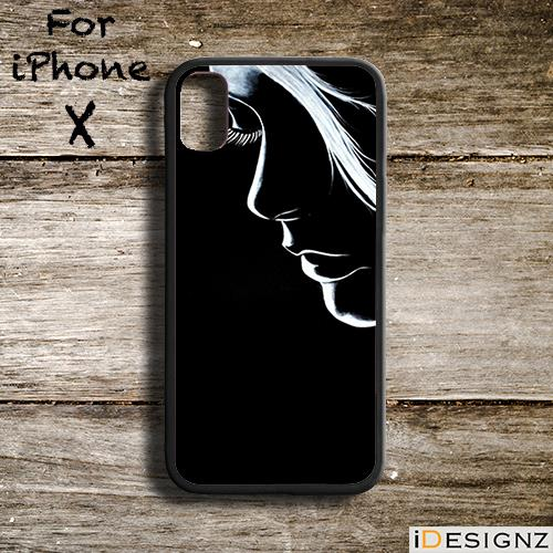 new arrivals a772d 780e7 Girl In Dark Fashion Girly Case Cover for iPhone X 8 8+ 7 7+ 6 6+ 5S 5