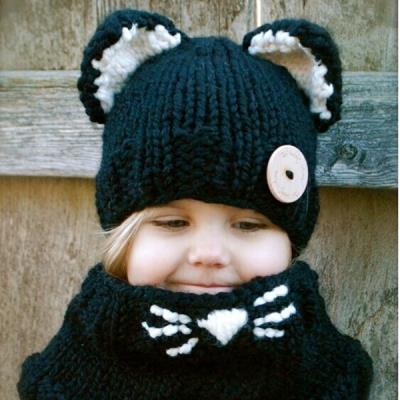 Girls Boys Baby Winter Hat Scarf Ear (end 6 20 2020 1 58 AM) 434cdb1a65e