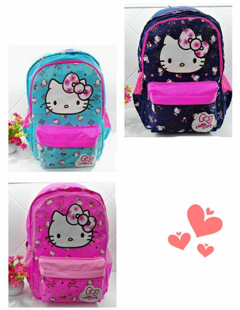 89da86ce52 Girls Cute Kitty Cat Primary School Bag Backpack 17