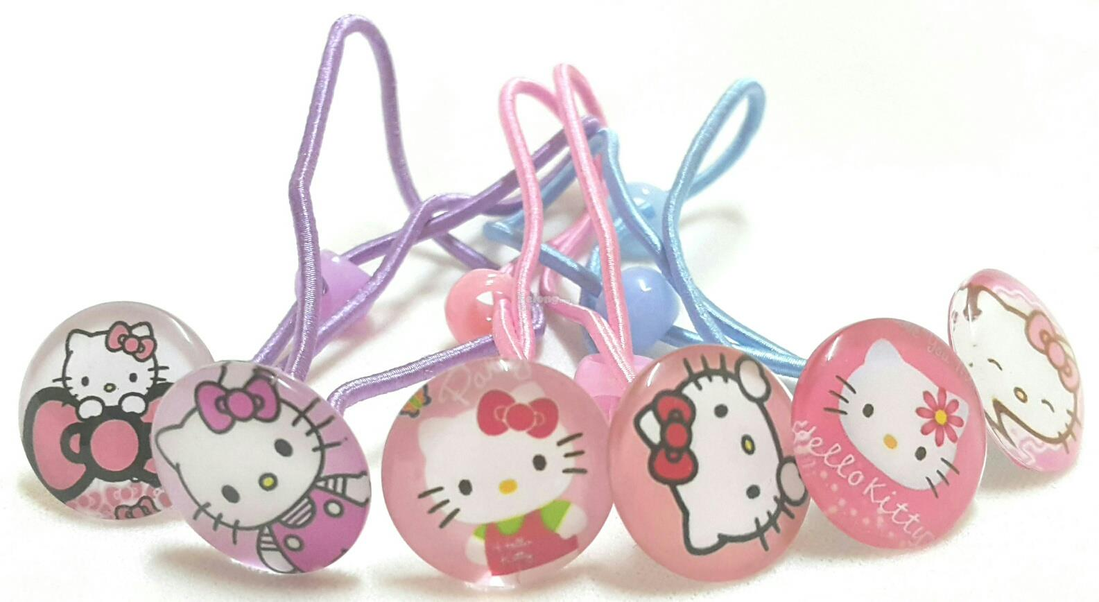 2aa85b626 Girls Hair Bands with Hello Kitty De (end 10/6/2018 4:15 PM)