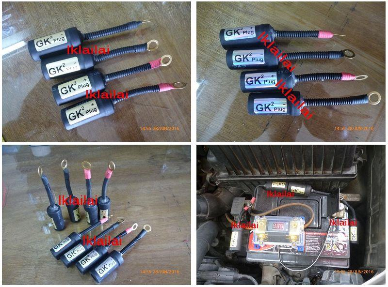 GK2 Plug More Power to Engine/Battery Longer Life [Lorry / Motor Car]