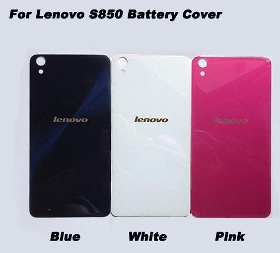 on sale f9ca4 b27da Back Glass Battery Cover For Lenovo S850 FREE 3M TAPE
