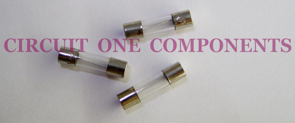 Glass Fuse 250v 0.3A 5 x 20mm ( 5 pcs / pack )
