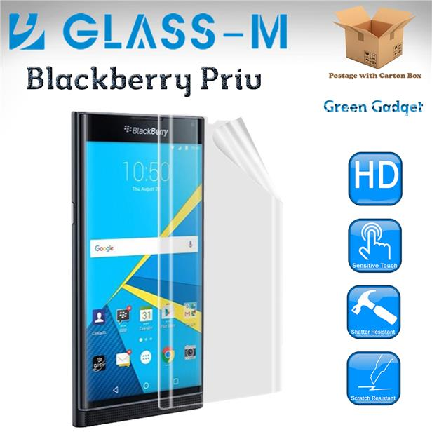 Glass-M Blackberry Priv Full TPU Screen Protector