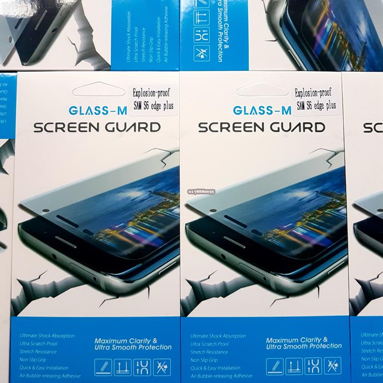 Glass-M Samsung Galaxy S6 Edge Plus Full Screen Protector