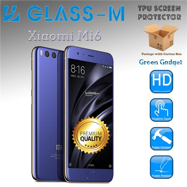 Glass-M XiaoMi Mi6 TPU Screen Protector