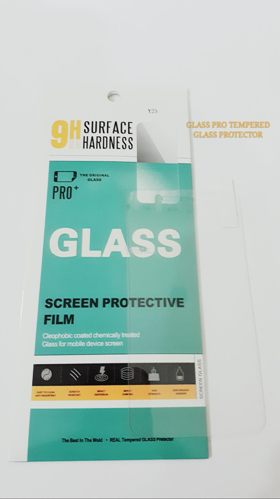 GLASS PRO VIVO Y25 TEMPERED GLASS SCREEN PROTECTOR