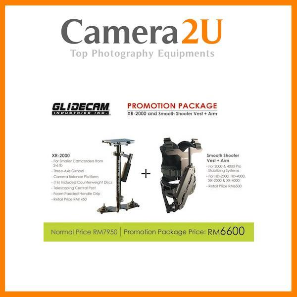 NEW Glidecam XR2000 & Smooth Shooter Vest Package