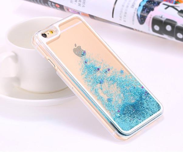 Glitter Quicksand Clear Case for iPhone 6 Plus